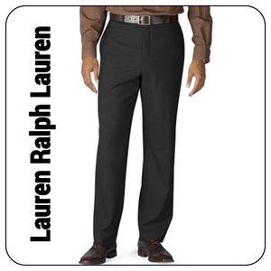 Lauren Ralph Lauren Black 33/30 Wool Dress Pants